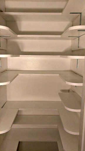 Pantry Closet Makeover Tutorial #pantryshelving