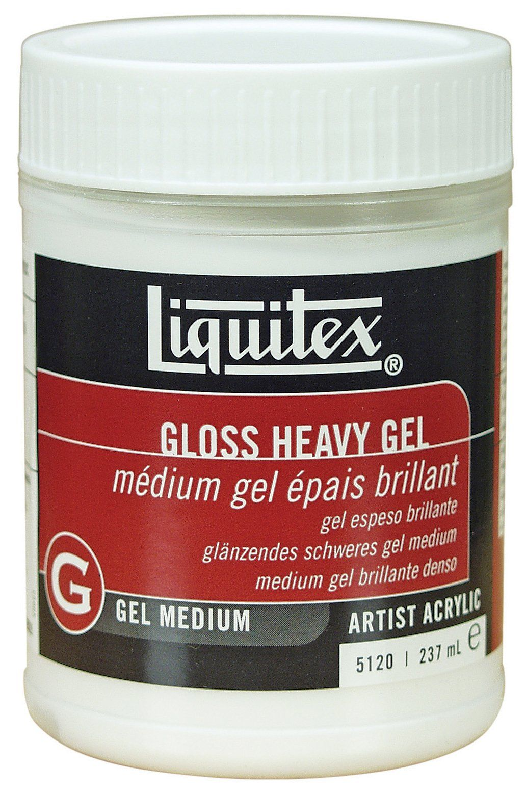 Fourniture De Bureau Professionnel Discount Liquitex Professional Gloss Heavy Gel Medium 8 Oz