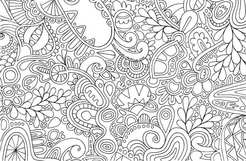 Mandalas Para Colorear De Bts: Hoja-para-colorear-portada …