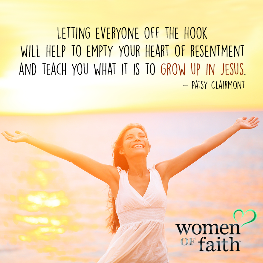 Women Of Faith Quotes: Patsy Clairmont Quote Grow Up In Jesus