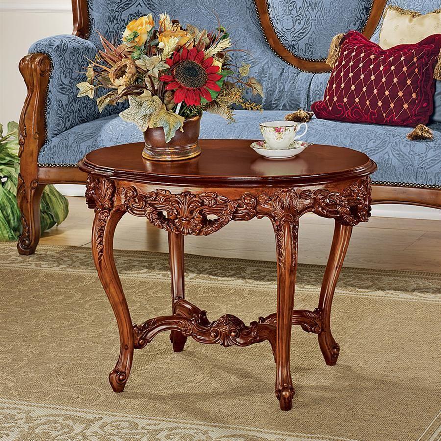 Chateau Montfort Louis Xv Cocktail Table Solid Wood Coffee Table Coffee Table Coffee Table Wood [ 900 x 900 Pixel ]