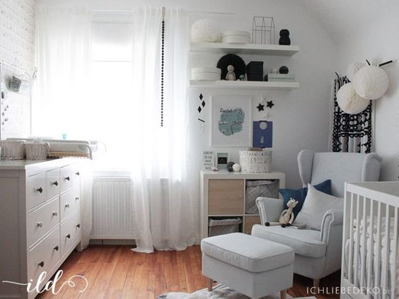 Ein babyzimmer einrichten mit ikea in 6 einfachen for Babyzimmer gestalten ikea