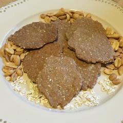 Peanut Butter Dog Treats | Peanut Butter Paws | Houndfuls Gourmet Dog Treats