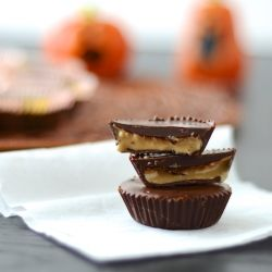 DIY Peanut Butter Cups - Healthy, easy