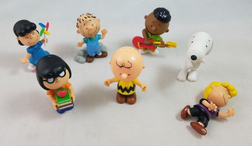 SNOOPY /& CHARLIE BROWN IN COSTUME NEW PEANUTS HALLOWEEN 3 PIECE FIGURE SET LUCY