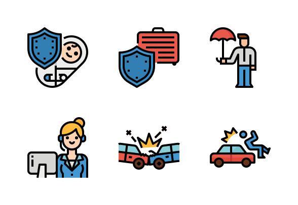 Insurance Icons By Monkik Car Insurance Low Car Insurance Insurance