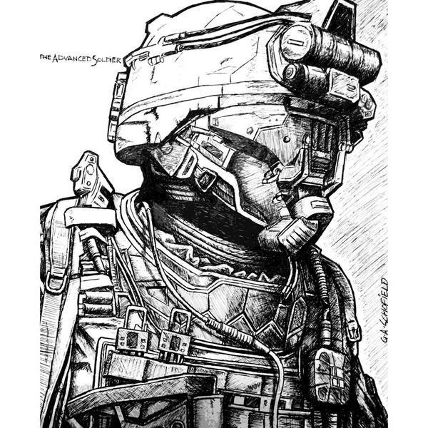 Tumblr Nc601gmdbl1rsz1wuo3 1280 Jpg 600 600 Call Of Duty Futuristic Helmet Advanced Warfare