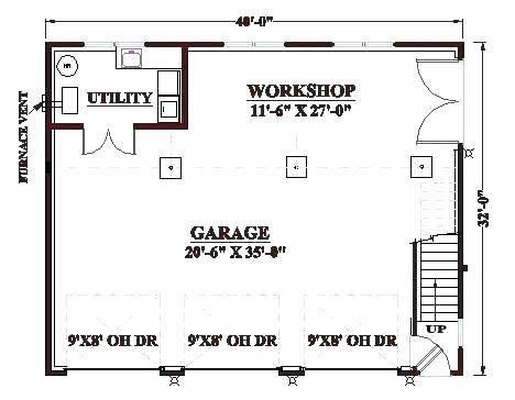 Garage Layout Planner Azovka Co One Car Garage Shop 1 Car