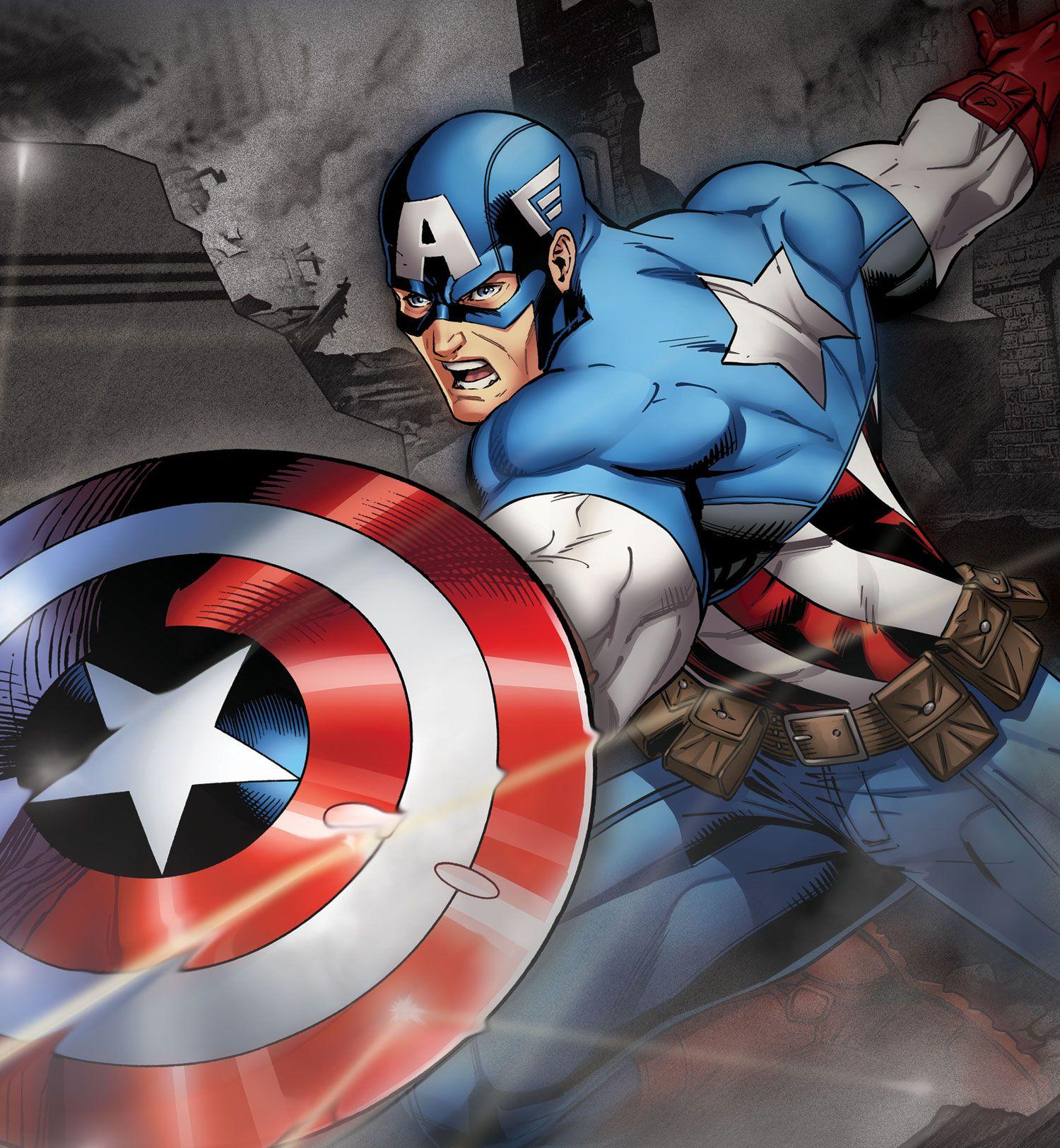 キャプテン・アメリカ|キャラクター|マーベル|