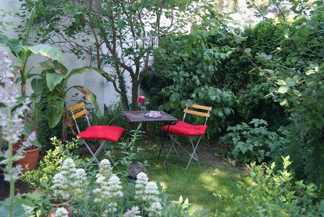 filz und garten: lauschige sitzecke im garten | outdoor, Garten und bauen