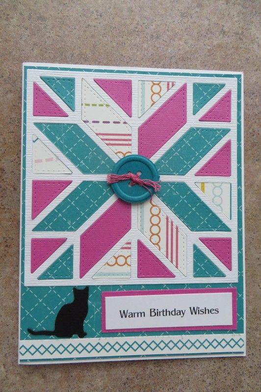 My new obsession is quilt dies. Gina Marie also has several dies ... : quilt dies - Adamdwight.com