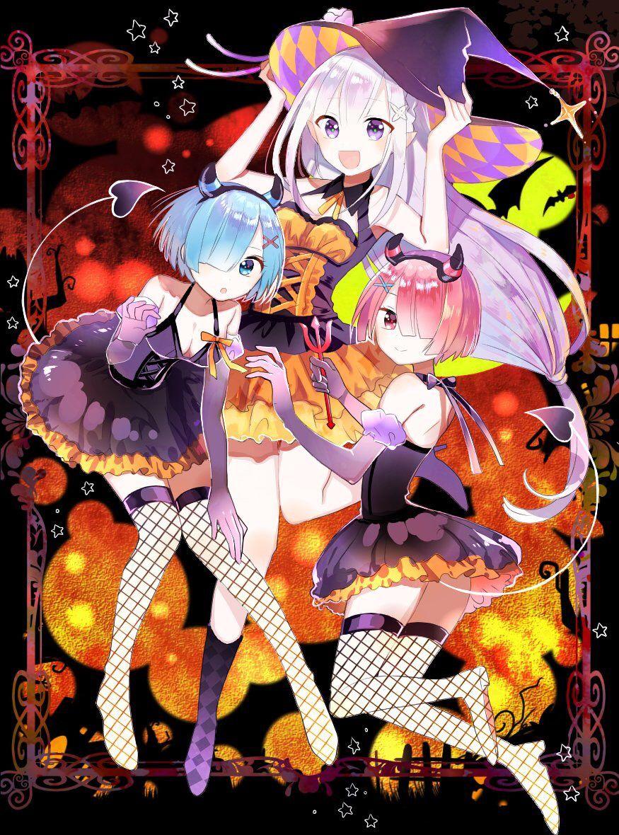 Happy Halloween Emilia, Rem, Ram Song sinh, Instagram