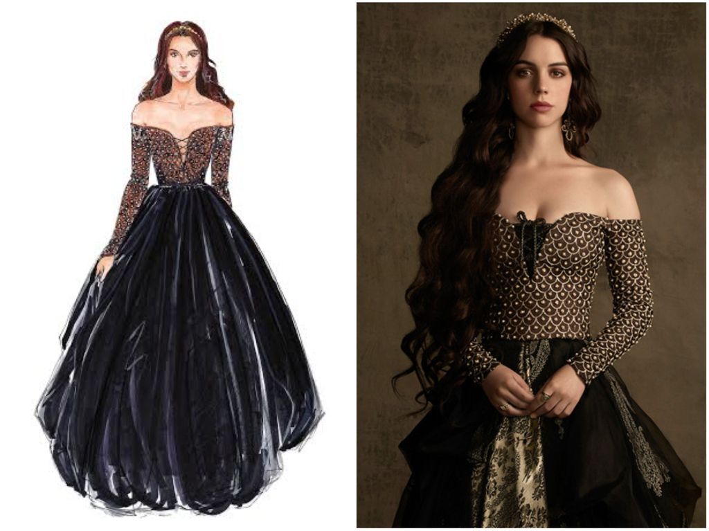 High fashion historic hybrid the costume design of reign for High couture designers