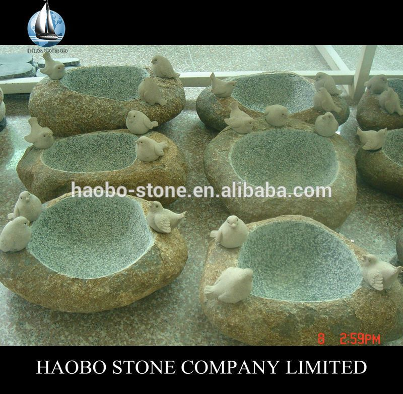 Haobo Stone Granite Garden Stone Bird Bath Bowl Find Complete