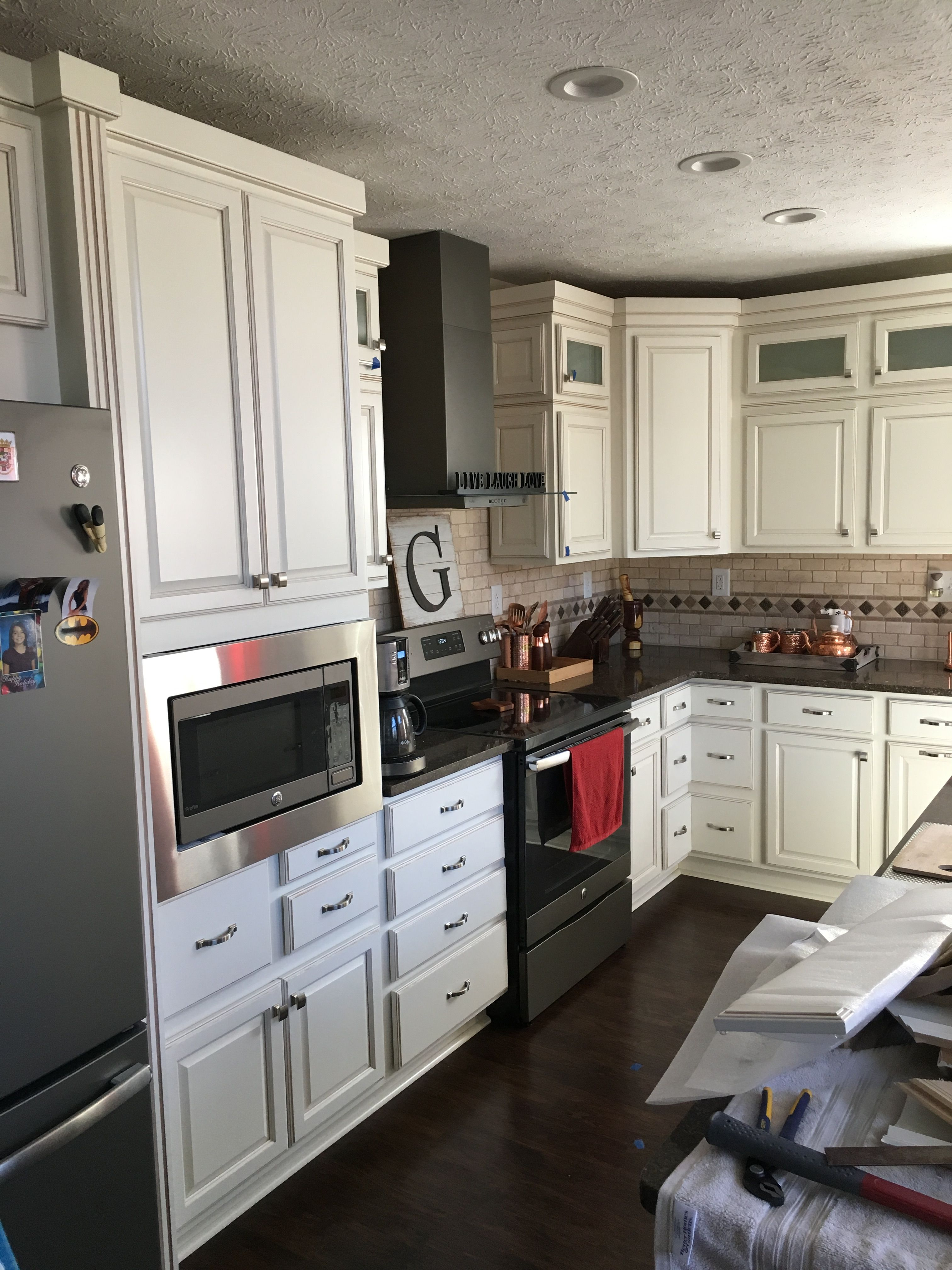 Coconut Kitchen Remodel Installing Cabinets Installing Kitchen Cabinets Kitchen Cabinet Remodel