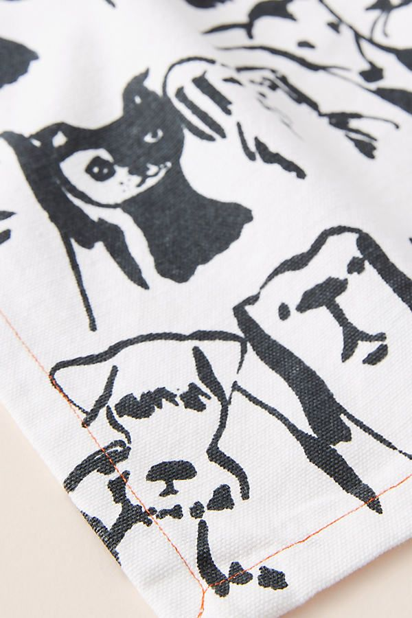 Animal Person Dish Towel #dishtowels