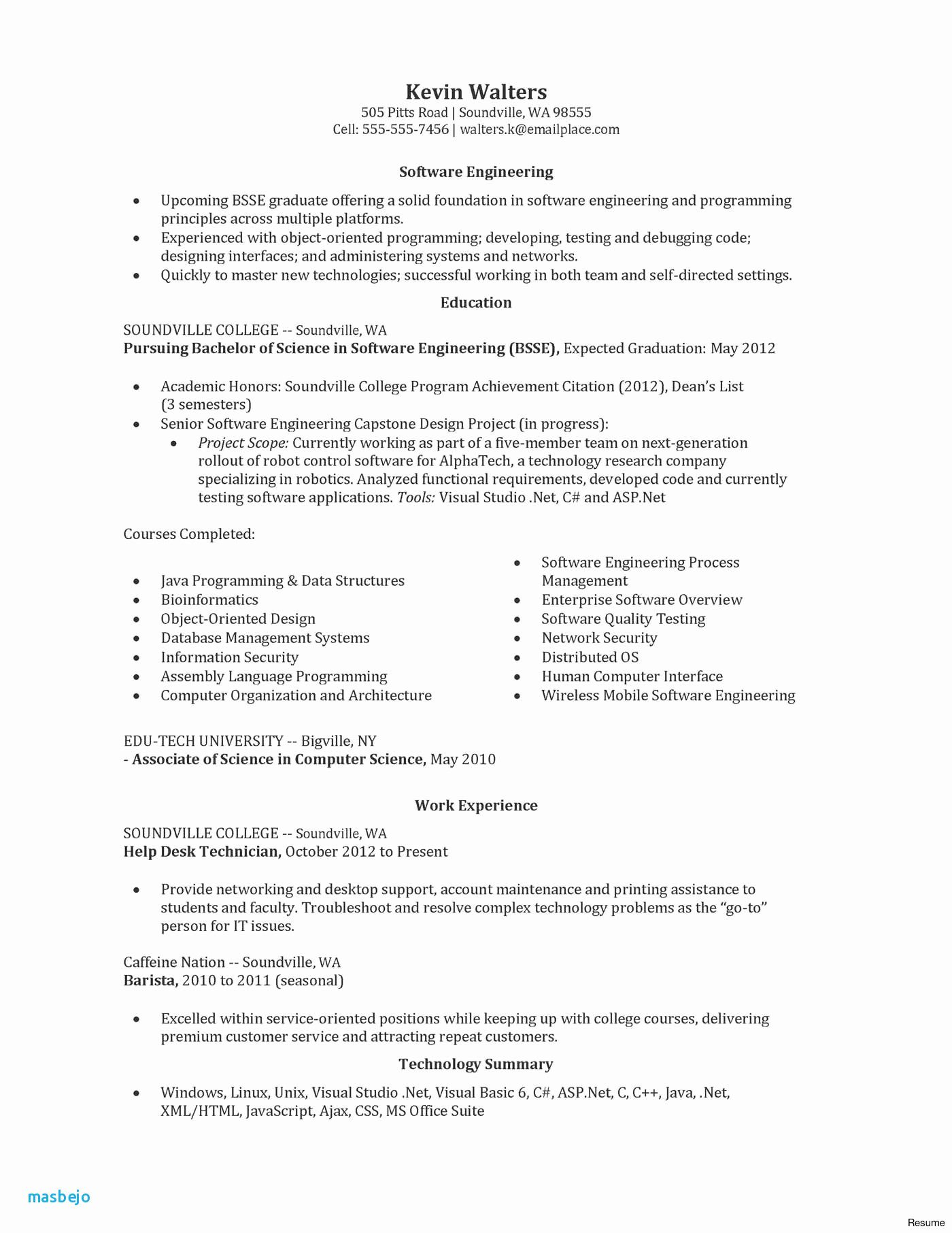 E Tc Engineer Engineering Resume Resume Template Professional
