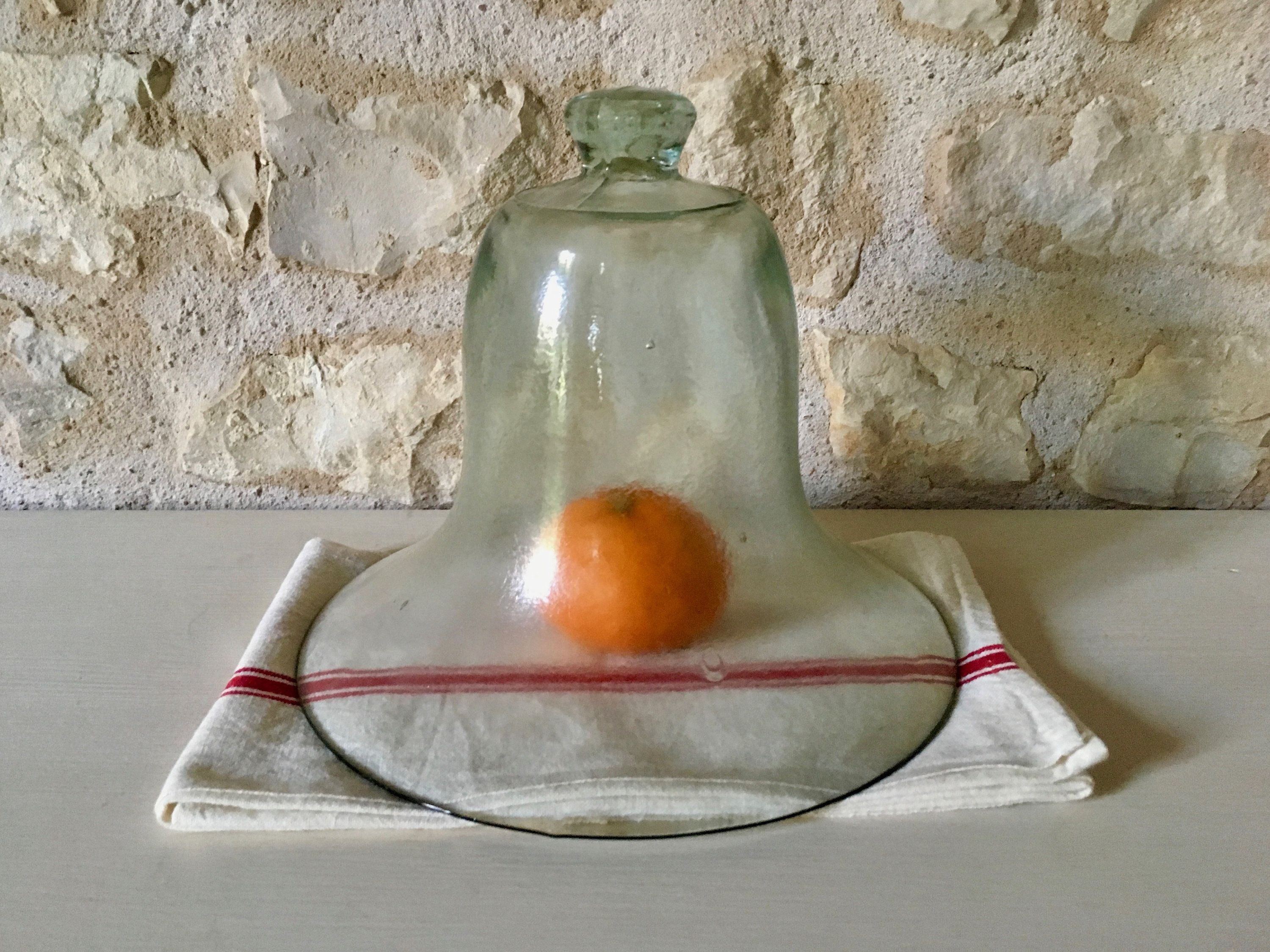 Cloche De Jardin En Verre Ancienne French Vintage Glass Outdoor