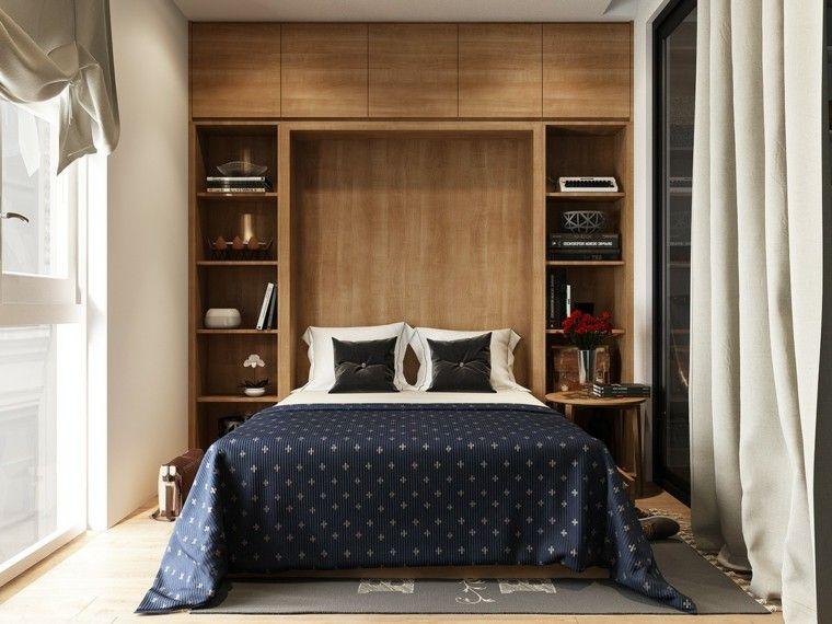 am nagement petit espace 24 photos de chambres design. Black Bedroom Furniture Sets. Home Design Ideas
