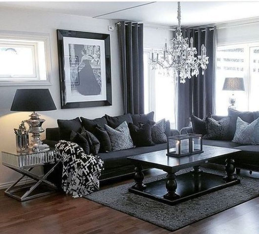 Awesome 33 Comfy Living Rooms Design Ideas Dark Living Rooms
