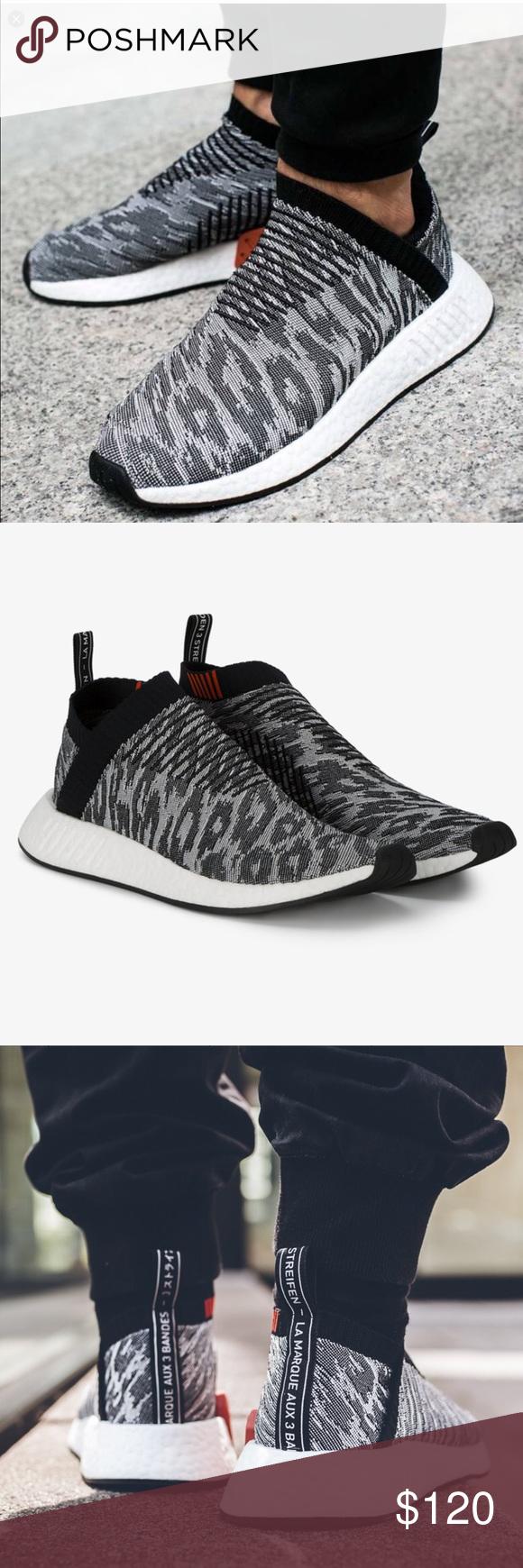 305c671f1fe2 💥Adidas Originals Leopard NMD CS2 Primeknit Shoes These black Adidas  Originals NMD CS2 Primeknit leopard