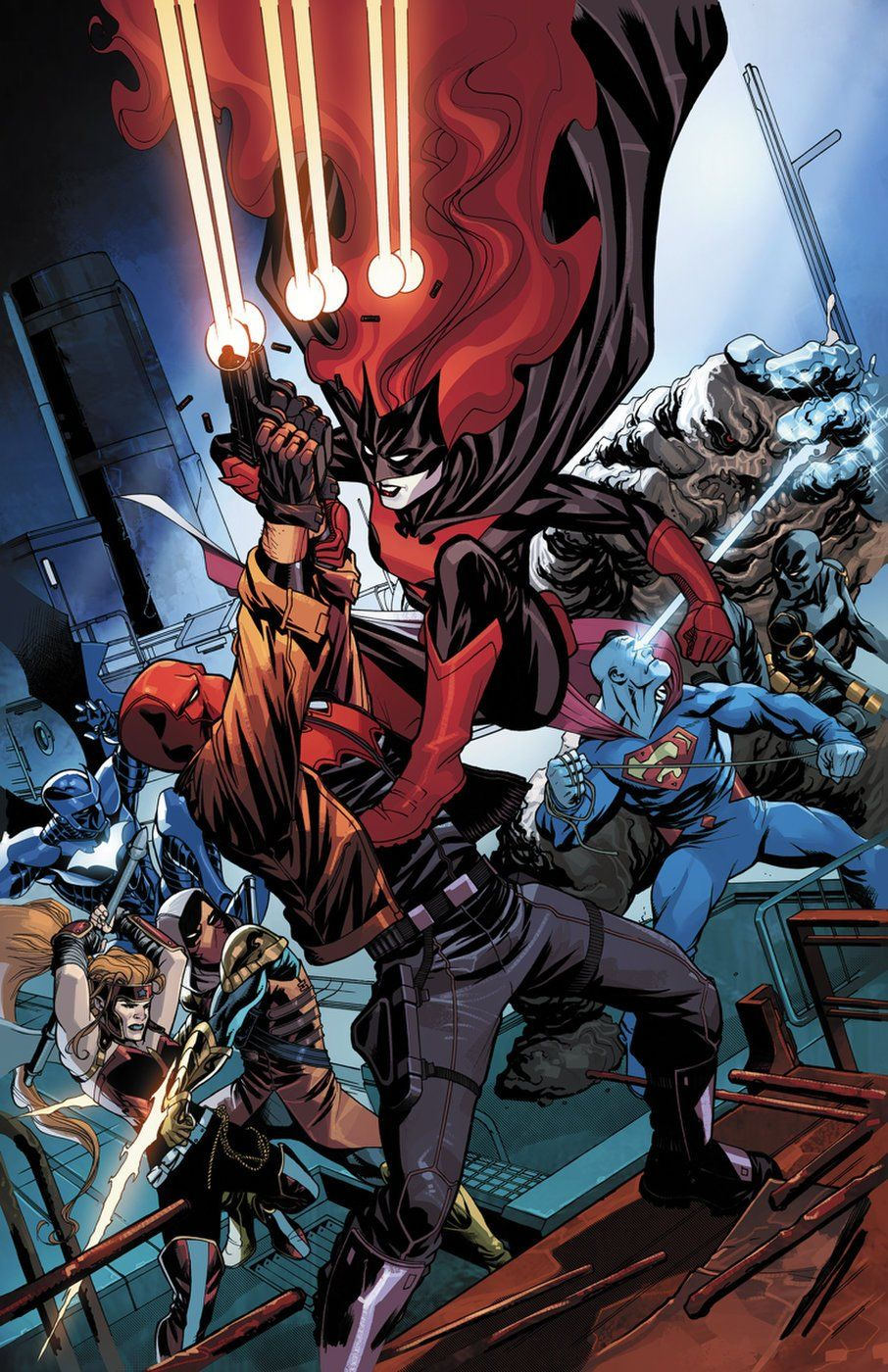 Red Hood and the Outlaws #15 by @Mike2112McKone (on sale Oct. 11) #Batwoman