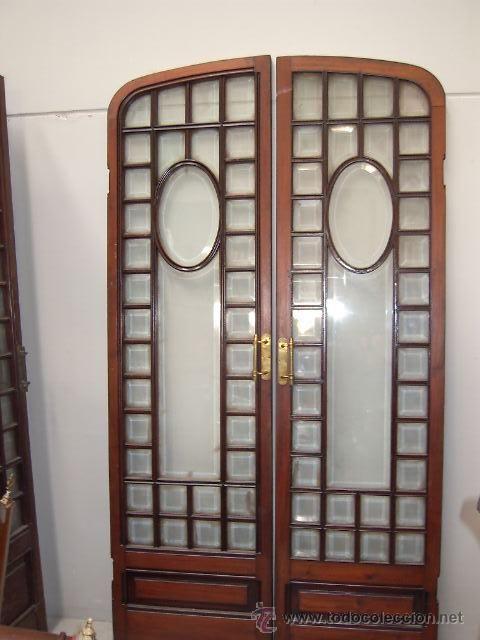 Resultado de imagen de puerta cristal antigua puertas for Imagenes de puertas de madera antiguas