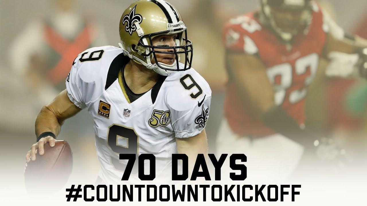 Every drew brees 70 yard touchdown countdowntokickoff