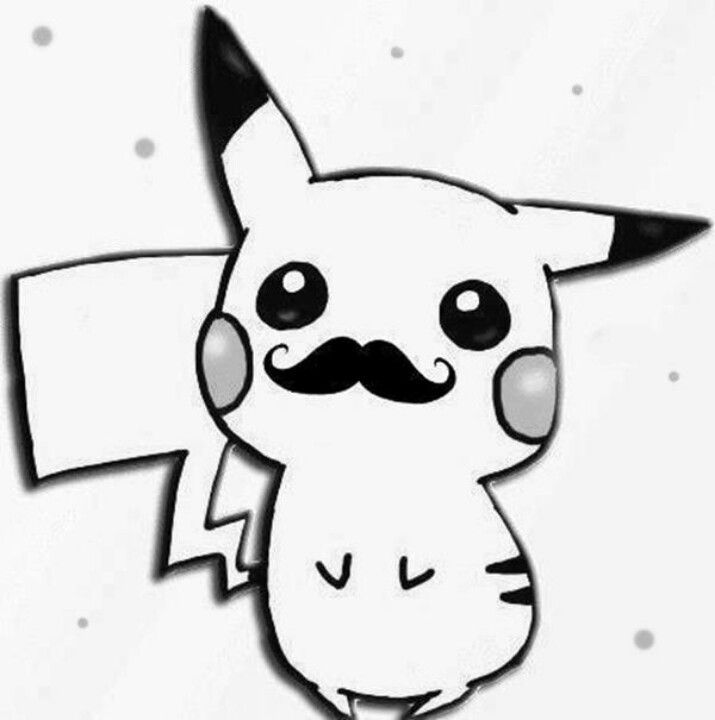 .hipster pikachu