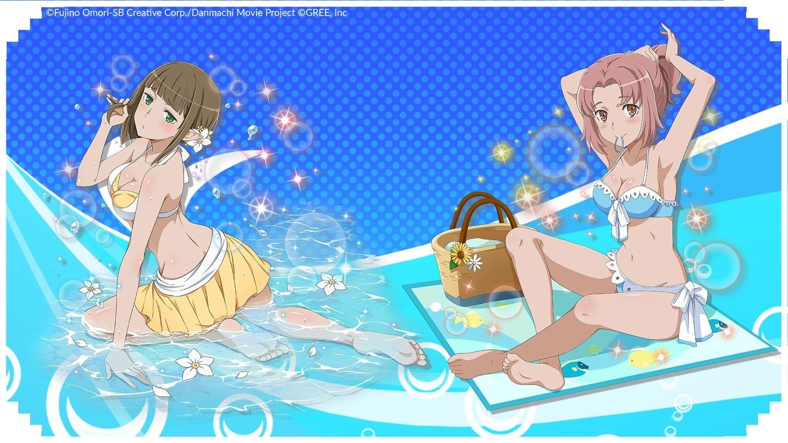 Eina Tulle & Misha Flott #Danmachi #Crunchyroll #games