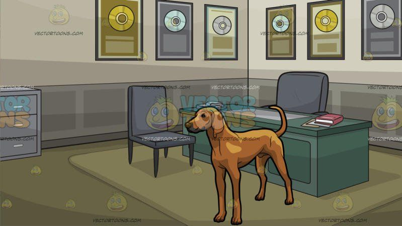 office pet ideas. A Tough Looking Coonhound Pet Dog With Office Of An Award Winning Record Producer Background Ideas M