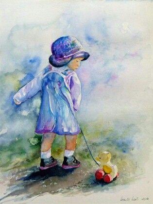 Aquarell Aus Dem Atelier Hanka Und Frank Koebsch Painting