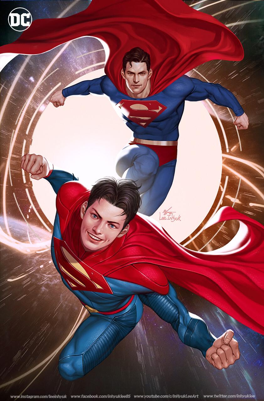 Artstation Superman 30 Inhyuk Lee In 2021 Adventures Of Superman Superman Comic Superman And Lois Lane