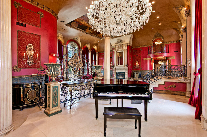 Lavish French Chateau In Flower Mound, TX For Under 2
