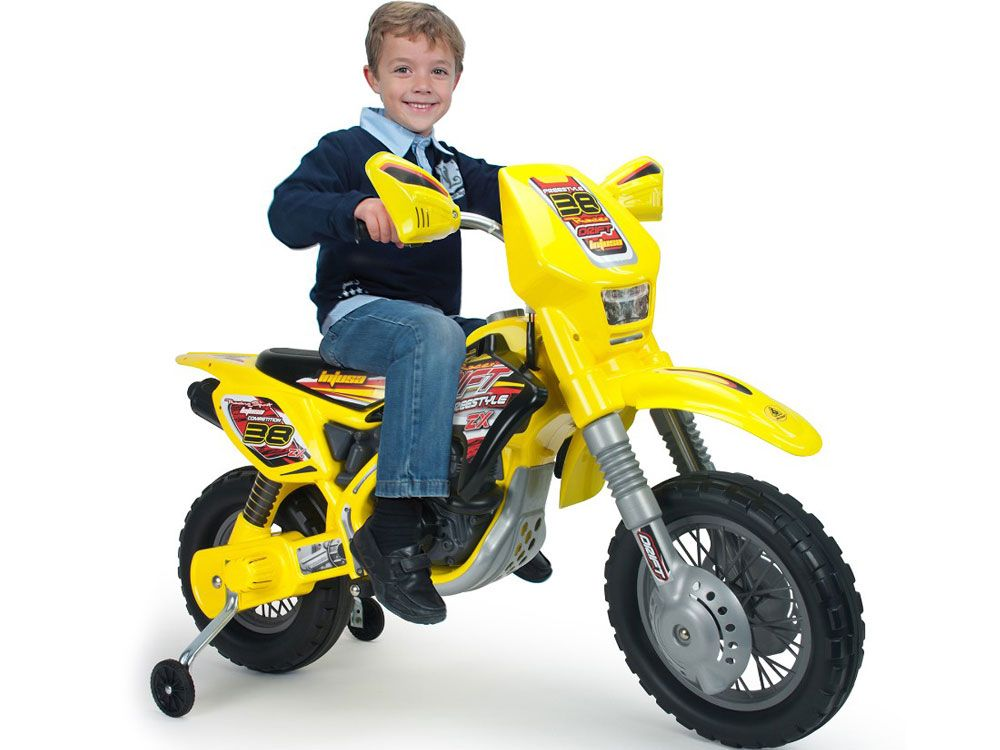 Injusa Drift Zx Dirt Bike 12v Fiestatoystore Kids Motorcycle Dirt Bikes For Kids Electric Dirt Bike