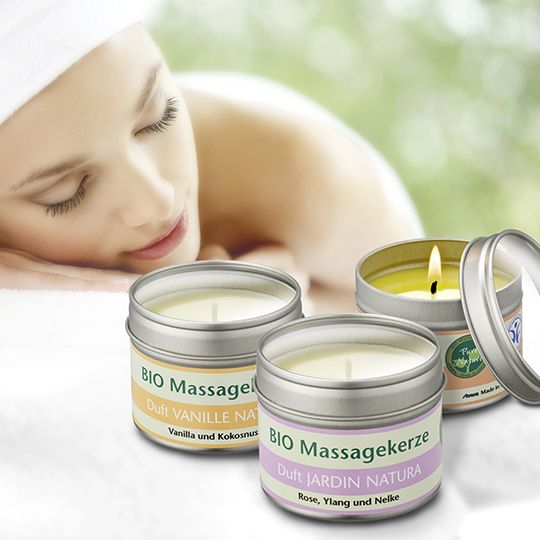 Una candela da massaggio per riaccendere la passione