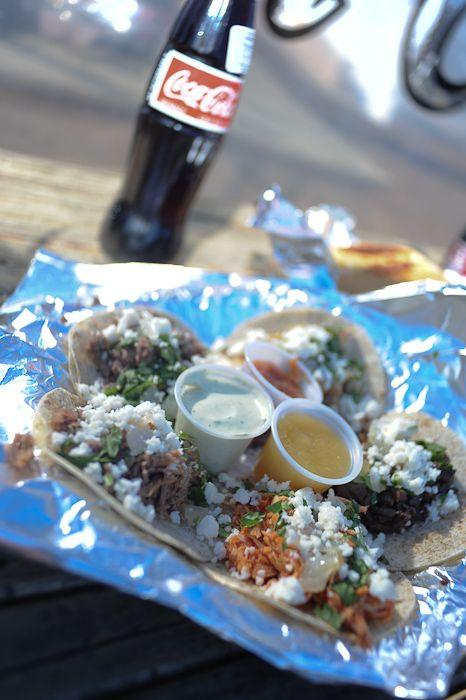 Trailer Thursday San Antonio Mini Lamb Tacos With Cilantro And