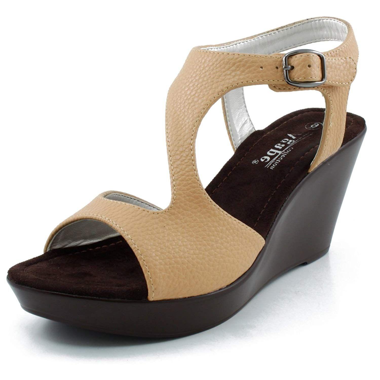 69923242d1f Agape Pamela-91 Lightweight Platform Wedge Sandal.Women s Shoes ...