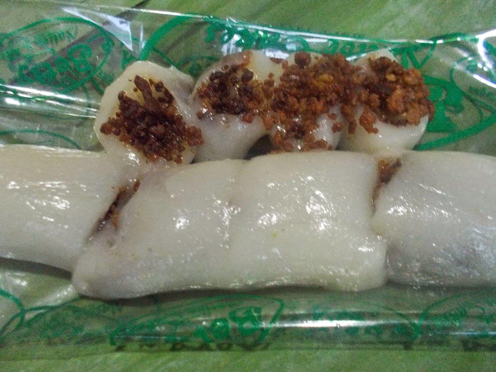 Sweet Rice Dessert : Kalamay-Kapit (Sticky Rice Flour in ...