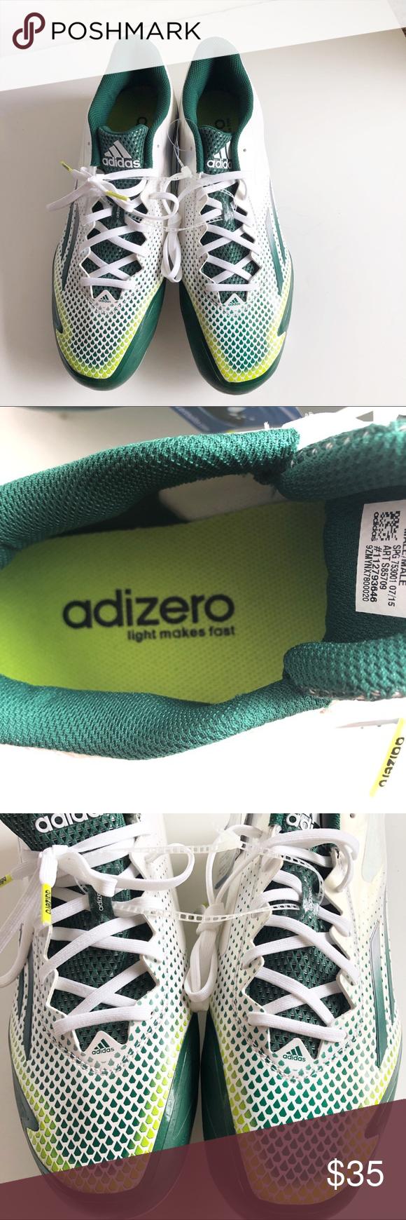 New Adidas Adizero Baseball Cleats Size Us 11 Baseball Cleats New Adidas Adidas