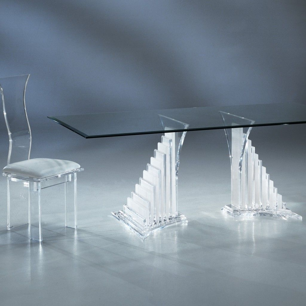 As a leading acrylic dining table manufacturer shahrooz designs top quality acrylic furniture for