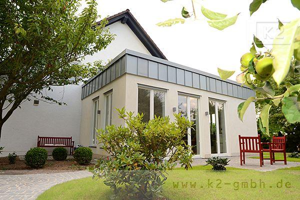 K2 Gebaudemanagement Anbau Einfamilienhaus Kamin Schiebetur Carport Aussenanlagen Einfamilienhaus Anbau Gebaude