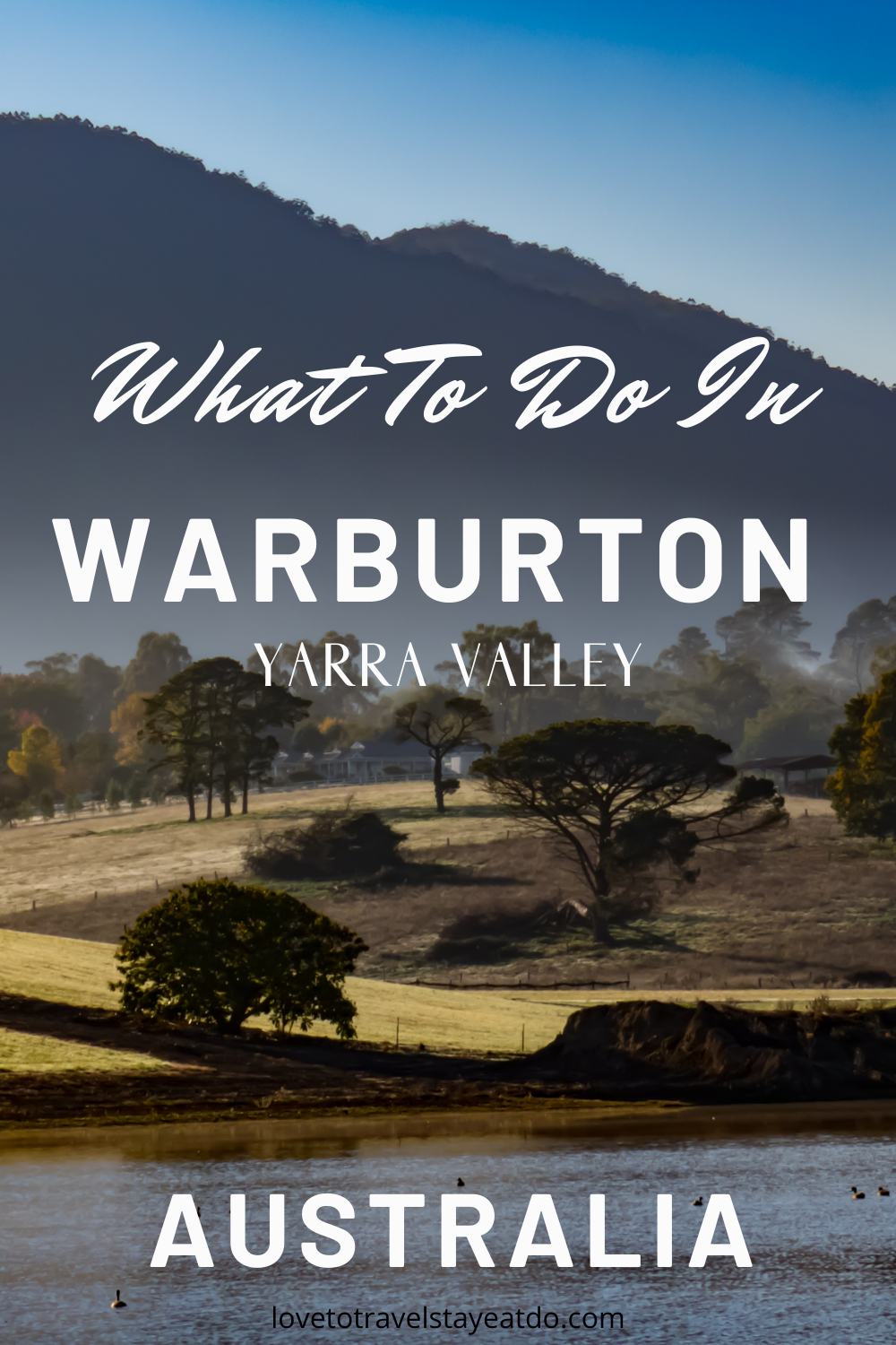 What To Do In Warburton in 2020 Australian holidays