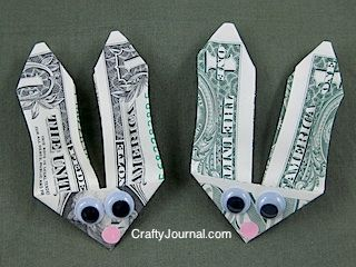 Bunny money this is a wonderful idea for an easter basket or to bunny money this is a wonderful idea for an easter basket or to give older kids who feel they are too old for easter baskets negle Image collections