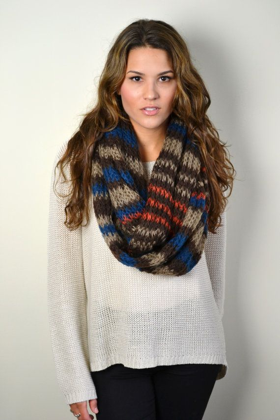 Women's Knitted Scarves/snoods....ETSY