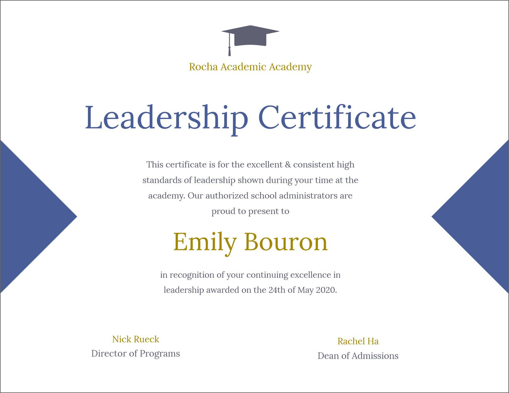 50 Free Creative Blank Certificate Templates In Psd Within Leadership Awar In 2020 Blank Certificate Template Awards Certificates Template Employee Awards Certificates