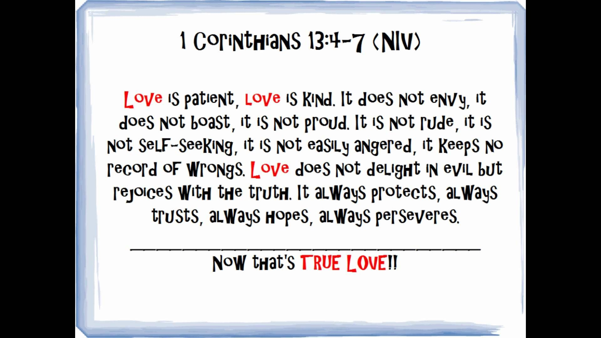 Bible Quotes About Love Bible Quotes On Love  Pt.1 Of Bible Verses On Love Playlist