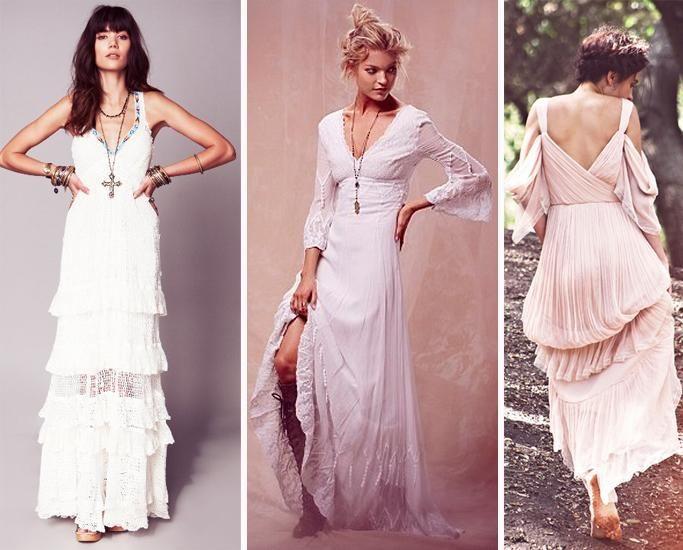 Vestidos, Vestidos de Novia - Free People: vestidos de novia no ...