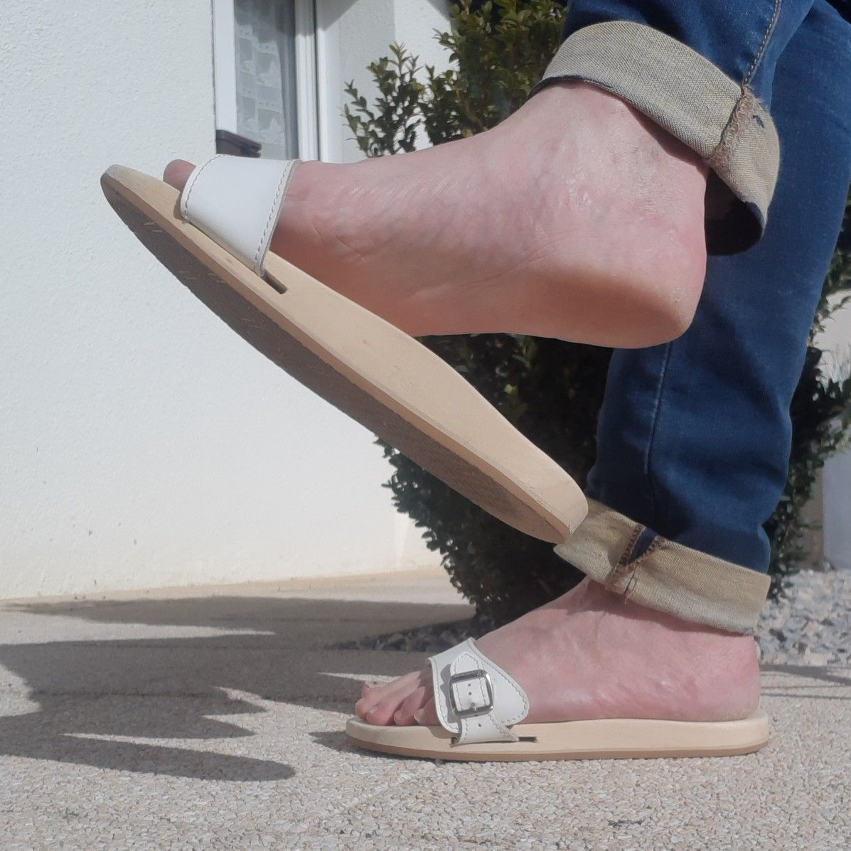 From my personal collection of Dr. Scholl exercise sandals