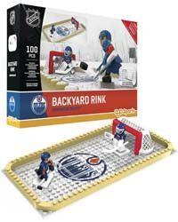 New! Edmonton Oilers OYO Buildable Backyard Rink Set #EdmontonOilers